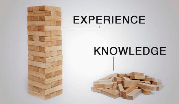 تجربه بهتر است یا دانش